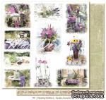 Лист бумаги для скрапбукинга от Maja Design - Garden moments, 30х30 - ScrapUA.com