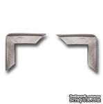 Набор металлических уголков 7 Gypsies - Antique Silver, 4 штуки - ScrapUA.com