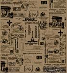 Папиросная бумага с рисунком 7 Gypsies Collage Tissue - Pairs - ScrapUA.com