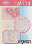 Набор схем для парчмент-крафта (пергамано), M104 Бабочки - ScrapUA.com