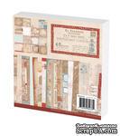 Набор бумаги Prima - En Francais Paper Pad, 15x15см, 48 листов - ScrapUA.com