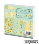 Набор бумаги Prima - Sun Kiss Collection Paper Pad, 15x15см, 48 листов - ScrapUA.com