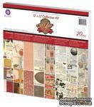 ЦЕНА СНИЖЕНА! Набор бумаги от Prima - Collection Kit, 30x30 см - ScrapUA.com