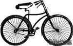 Акриловый штамп ''Юношеский велосипед'' - ScrapUA.com