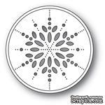 Ножи для вырубки от Memory Box - Pinpoint Snowflake Circle - ScrapUA.com