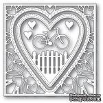 Ножи от Memory Box - Neighborhood Heart Frame craft die - ScrapUA.com