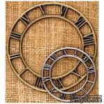 Металлические украшения Prima - Finnabair Vintage Mechanicals Metal Trinkets - Clock Face Small - ScrapUA.com