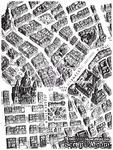 ЦЕНА СНИЖЕНА! Штамп силиконовый фоновый от Prima - Map - ScrapUA.com