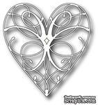 Лезвие - Dies - La Rue Heart от Memory Box - ScrapUA.com