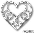 Лезвие - Dies - Silverdale Heart - ScrapUA.com