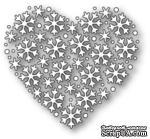 Ножи для вырубки от Memory Box - Snowflake Heart - ScrapUA.com
