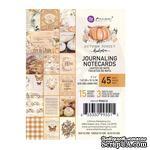 Набор карточек Prima - Autumn Sunset, 45 штук, 7.5х10 см, двусторонние - ScrapUA.com