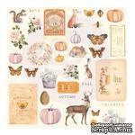 Набор высечек Prima - Autumn Sunset Cardstock Ephemera, 36 штук - ScrapUA.com