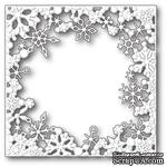 Ножи от Memory Box - Dancing Snowflake Square craft die - ScrapUA.com