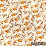 Лист скрапбумаги от ScrapEgo - Тыквенное настроение  #9, 30,5х30,5см - ScrapUA.com