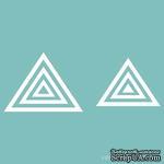 Чипборд от Вензелик - Набор треугольников, от 6 до 40 мм, размер: от 6 до 40 мм - ScrapUA.com