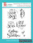 Штампы от Lil' Inker Designs - Greetings & Salutations Stamps  - ScrapUA.com