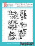 Штампы от Lil' Inker Designs - Paint Your Canvas Stamps - ScrapUA.com