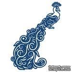 Нож для вырубки от Tattered Lace - Peacock Swirls - Павлин - ScrapUA.com
