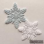 Декор ажурный - Снежинки от Allmacrfat, цвет на выбор, 2 шт. - ScrapUA.com