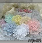 Декор ажурный - Мини-салфеточка с вышивкой Allmacrfat, 5х5,5 см,  цвет на выбор, 1 шт. - ScrapUA.com