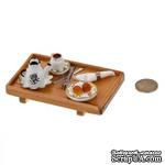 Поднос накрытый для чаепития от Art of Mini - ScrapUA.com