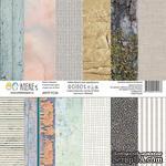 Набор бумаги от Артелье - ФОНОteka, 30х30 см, 6 шт - ScrapUA.com