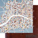 Бумага для скрапбукинга от Артелье - В режиме с пробками, 30,5х30,5 см - ScrapUA.com