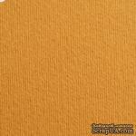 Дизайнерский картон с фактурой вельвета Nettuno camoscio, размер: 30х30 см, цвет: коричневый светлый, плотность: 280 г/м2, 1 шт - ScrapUA.com