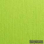 Дизайнерский картон с фактурой льна Sirio tela lime, 290 г/м2, 30х30,салатовый фисташковый - ScrapUA.com