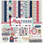 Набор двусторонней бумаги Carta Bella - Ahoy There - Collection Kit, 30х30 см - ScrapUA.com