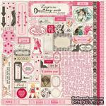 Наклейки Authentique - Lovely - Details Stickers, 30х30 см - ScrapUA.com