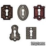 Набор металлических украшений Tim Holtz - Keyholes - ScrapUA.com