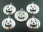 """Металлическое украшение """"Хэллоуин"""", серебро, размер 20х20 мм, 1 шт. - ScrapUA.com"""