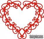 Лезвие Celtic Heart от Cheery Lynn Designs - ScrapUA.com
