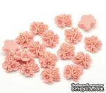 """Кабошон """"Цветок"""", цвет розовый, размер 16х16 мм, 1 шт. - ScrapUA.com"""