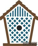 Нож для вырубки от Cheery Lynn Designs - Birdhouse with Lattice - ScrapUA.com