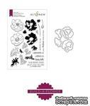Штампы + Ножи для вырубки от Altenew - Build-A-Flower: Build-A-Flower: Anemone Coronaria, 24 штампа + 8 ножей - ScrapUA.com