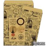 Конверты-пакетики из крафт-бумаги BoBunny - Kraft Gift Bags Clocks - ScrapUA.com
