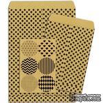 Конверты-пакетики из крафт-бумаги BoBunny - Kraft Gift Bags Dots - ScrapUA.com