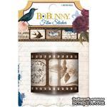 Наклейки-пленки в рулоне BoBunny - Rose Cafe - Film Stickers - ScrapUA.com