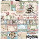 Набор наклеек BoBunny - Garden Journal - Combo Stickers - ScrapUA.com