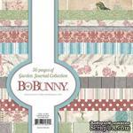 Набор двусторонней бумаги BoBunny - Garden Journal - Paper Pad, размер 15х15 см, 36 листов - ScrapUA.com