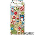 Набор пуговиц BoBunny - Dear Santa - Buttons, 21 шт - ScrapUA.com