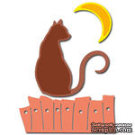 Лезвие Crafty Ann - Cat and Moon - ScrapUA.com