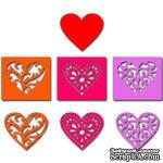 Лезвие Crafty Ann Hearts (набор) - ScrapUA.com