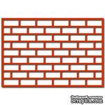 Лезвие Crafty Ann - Brick Lattice - ScrapUA.com
