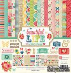 Набор бумаги и декора от Echo Park Beautiful Life Collection Kit, 30x30 см - ScrapUA.com