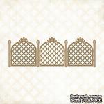 Чипборд Blue Fern Studios - Lattice Fence - ScrapUA.com