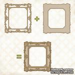 Чипборд Blue Fern Studios - Shabby Layered Frame - ScrapUA.com